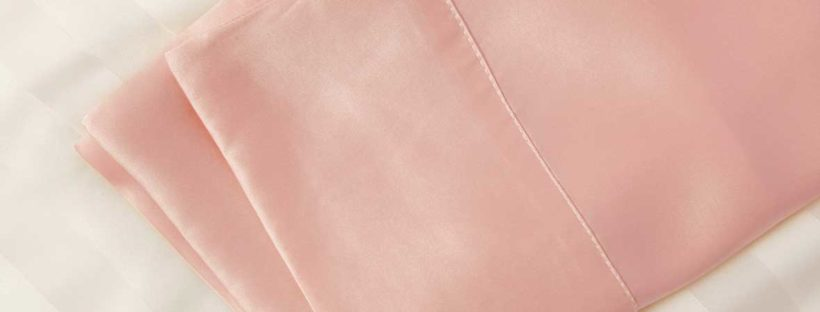 pink silk pillowcases